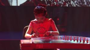 """Xiaoyan WEI, Chiny II Międzynarodowy Festiwal Muzyczny Dzieci, Młodzieży i Dorosłych z Zaburzeniami Słuchu """"Ślimakowe Rytmy"""" fot. ŚWIECZAK"""