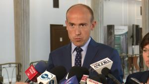 Borys Budka o projekcie nowej ustawy o TK fot. ŚWIECZAK