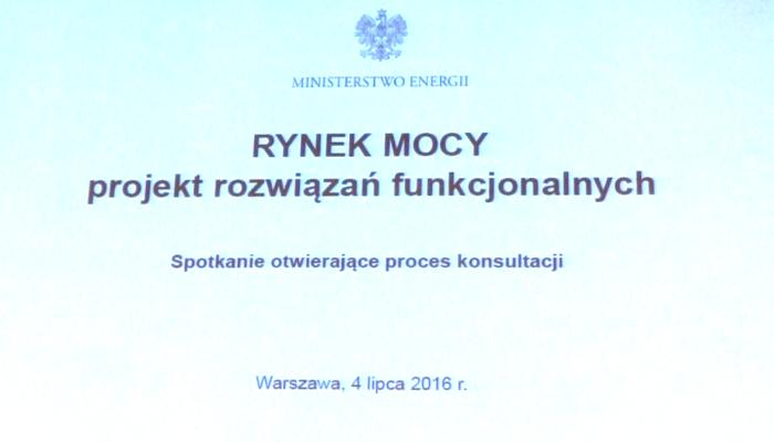"""Konferencja pt. """"Rynek mocy - konsultacje rozwiązań funkcjonalnych"""" http://press.warszawa.pl/?p=37957"""