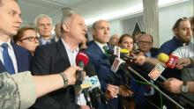 Budka, Neumann w sprawie sprzeciwu opozycji wobec skierowania projektu do komisji fot. ŚWIECZAK