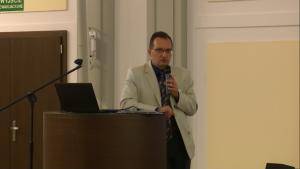 Jakub Ryzenko II Forum Obserwacji Ziemi fot. ŚWIECZAK