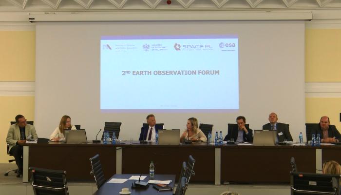 II Forum Obserwacji Ziemi fot. ŚWIECZAK