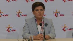 Premier Szydło: Światowe Dni Młodzieży w Krakowie przebiegły w sposób perfekcyjny fot. ŚWIECZAK