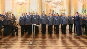 Święto Policji 2016 na Zamku Królewskim - wręczenie odznaczeń i nominacji fot. ŚWIECZAK