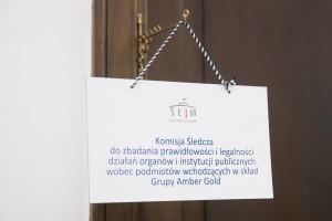 Inauguracyjne posiedzenie komisji śledczej w sprawie Amber Gold fot. Paweł Kula