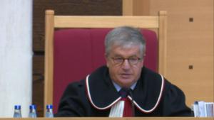 sędzia Andrzej Wróbel TK: ustawa PiS o Trybunale Konstytucyjnym częściowo niezgodna z konstytucją fot. ŚWIECZAK