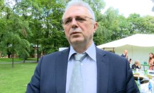 Matthias Rehm z Ambasady Republiki Federalnej Niemiec Kulturalnie o niskiej emisji! – śniadanie prasowe dotyczące Pikniku z Klimatem fot. ŚWIECZAK