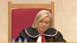 Sędzia Julia Przyłębska TK: ustawa PiS o Trybunale Konstytucyjnym częściowo niezgodna z konstytucją fot. ŚWIECZAK