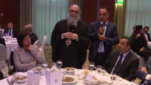 Uroczysta kolacja na cześć Jego Świątobliwości Jana X, Patriarchy Antiochii i Całego Wschodu fot. ŚWIECZAK