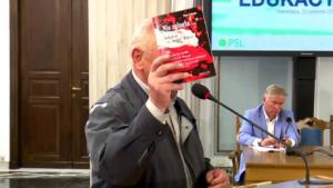 Piotr Zaborny Konferencja edukacyjna PSL fot. ŚWIECZAK