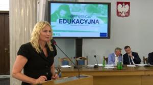 Teresa Łuczak, Konferencja edukacyjna PSL fot. ŚWIECZAK