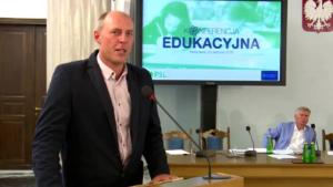 Tomasz Lewicki Konferencja edukacyjna PSL fot. ŚWIECZAK