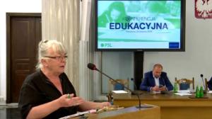 Zofia Kaczor – Jędrzycka, Towarzystwo Uniwersytetów Ludowych Konferencja edukacyjna PSL fot. ŚWIECZAK