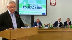 Stanisław Różycki Konferencja edukacyjna PSL fot. ŚWIECZAK