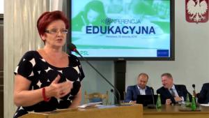 Bożena Krawczyk Konferencja edukacyjna PSL fot. ŚWIECZAK