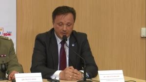 Płk Andrzej Pawlikowski, szef BOR Konferencja podsumowująca bezpieczeństwo Światowych Dni Młodzieży fot. ŚWIECZAK
