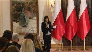 Justyna Błażejowska Lekcja historii z okazji 40. rocznicy utworzenia KOR fot. ŚWIECZAK