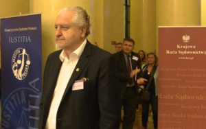 Andrzej Rzepliński prezes Trybunału Konstytucyjnego, Nadzwyczajny Kongres Sędziów Polskich fot. ŚWIECZAK