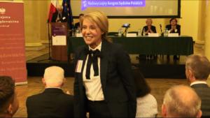 Barbara Dolniak, wicemarszałek Sejmu VIII kadencji Nadzwyczajny Kongres Sędziów Polskich fot. ŚWIECZAK