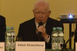 Adam Strzembosz, pierwszy prezes Sądu Najwyższego i przewodniczący Trybunału Stanu Nadzwyczajny Kongres Sędziów Polskich fot. ŚWIECZAK