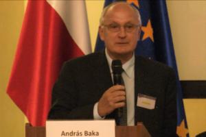 Prof. András Baka b. Prezes SN Węgier Nadzwyczajny Kongres Sędziów Polskich fot. ŚWIECZAK