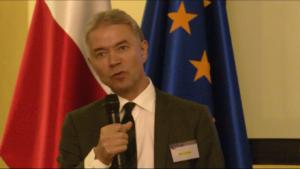 Sędzia Nils Engstad - Przewodniczący Rady Konsultacyjnej Sędziów Europejskich Nadzwyczajny Kongres Sędziów Polskich fot. ŚWIECZAK