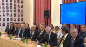 Konferencja prasowa podkomisji smoleńskiej fot. ŚWIECZAK