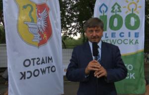 Zbigniew Szczepaniak Prezydent Otwocka Urodziny Miasta-100 lat Otwocka fot. ŚWIECZAK