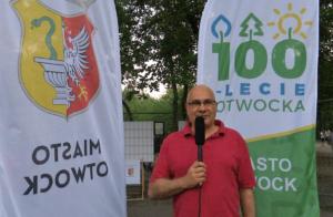 Marek Leśkiewicz Radny Miasta Otwocka Urodziny Miasta-100 lat Otwocka fot. ŚWIECZAK