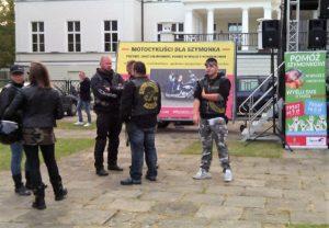 Motocykliści dla Szymonka - wielki Zlot Motocyklistów w parku Miejskim w Otwocku fot. ŚWIECZAK