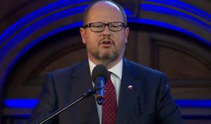 Paweł Adamowicz - Prezydent Miasta Gdańska Obchody 30-lecia Trybunału Konstytucyjnego fot. ŚWIECZAK