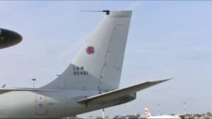 AWACS nad wschodnią flanką NATO fot. ŚWIECZAK