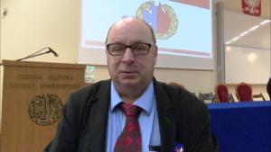 Prof. dr hab. inż. Tadeusz Piecuch Inauguracja roku akademickiego 2016/2017, Ślubowanie strażaków w służbie kandydackiej Szkoły Głównej Służby Pożarniczej fot. ŚWIECZAK