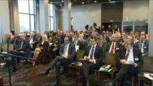 """Międzynarodowa konferencja naukowa """"Konfiskata rozszerzona – nowoczesny środek walki z przestępczością zorganizowaną"""" fot. ŚWIECZAK"""