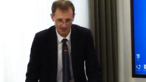 """dr Andrzej Halicki Seminarium pt:""""Funkcjonowanie Służby Celnej w Polsce"""" fot. ŚWIECZAK"""