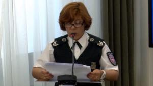 """rachm. Jolanta Haron Seminarium pt:""""Funkcjonowanie Służby Celnej w Polsce"""" fot. ŚWIECZAK"""