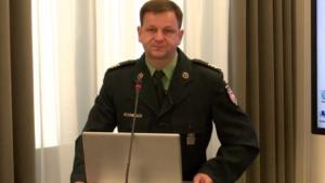 """rachm. Sławomir Siwy, Seminarium pt:""""Funkcjonowanie Służby Celnej w Polsce"""" fot. ŚWIECZAK"""