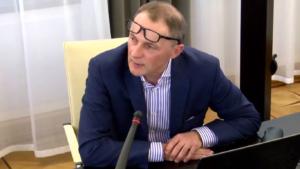 """Sławomir Wysocki, Seminarium pt:""""Funkcjonowanie Służby Celnej w Polsce"""" fot. ŚWIECZAK"""