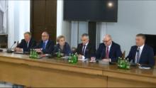 Afera reprywatyzacyjna w Warszawie naKomisji Samorządu Terytorialnego i Polityki Regionalnej fot. ŚWIECZAK