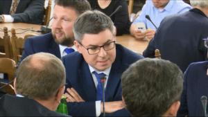 Jan Grabiec Afera reprywatyzacyjna w Warszawie naKomisji Samorządu Terytorialnego i Polityki Regionalnej fot. ŚWIECZAK