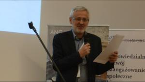 Prof. ALK, dr hab. Bolesław Rok XI Konkurs Verba Veritatis na najlepszą pracę z zakresu etyki biznesu fot. ŚWIECZAK