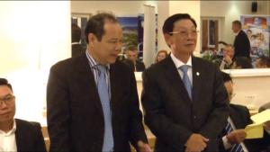 Dr TA MINH CHAU były ambasador Wietnamu w Polsce Dr inż. NGUYEN THE THAO były Prezydent Ha Noi Spotkanie z przedstawicielami Wietnamu i Towarzystwem Przyjaźni Wietnamsko-Polskiej fot. ŚWIECZAK