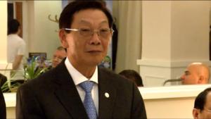 Dr inż. NGUYEN THE THAO były Prezydent Ha Noi Spotkanie z przedstawicielami Wietnamu i Towarzystwem Przyjaźni Wietnamsko-Polskiej fot. ŚWIECZAK