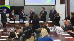 """Forum Gospodarczym """"Polska- Zjednoczone Emiraty Arabskie"""" fot. ŚWIECZAK"""
