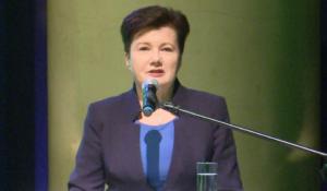 Hanna Gronkiewicz-Waltz, Prezydent m.st. Warszawy Gala Warszawskich Olimpijczyków fot. ŚWIECZAK