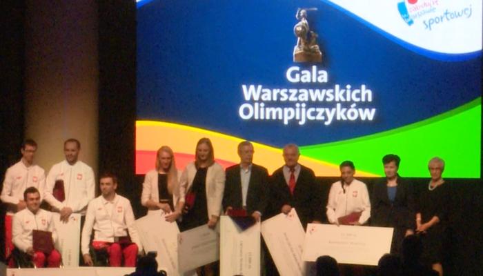 Gala Warszawskich Olimpijczyków fot. ŚWIECZAK