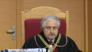 Andrzej Rzepliński Prezes TK Trybunał w składzie 5-osobowym orzekł co do zasady powołania prezesa i wiceprezesa TK fot. ŚWIECZAK