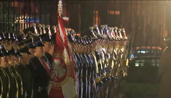 Święto Podchorążych w Belwederze fot. ŚWIECZAK