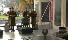 """Uroczystość odsłonięcia tablicy poświęconej pamięci """"Żołnierzy Wyklętych"""" fot. ŚWIECZAK"""