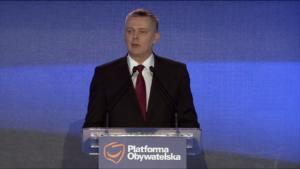 Tomasz Siemoniak Gabinet Cieni Platformy Obywatelskiej fot. ŚWIECZAK